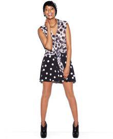 MADE Fashion Week for Impulse Skirt Polka-Dot Skater at Macys
