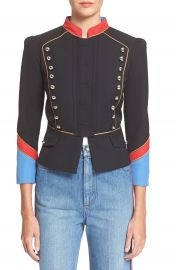 MARC BY MARC JACOBS Gabardine Military Jacket at Nordstrom