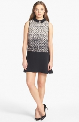 MARC BY MARC JACOBS Isa Print Silk Shift Dress at Nordstrom