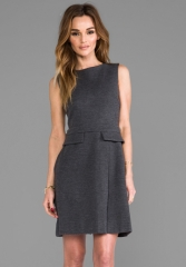 MARC BY MARC JACOBS Milly Milano Dress in Plum Kitten Melange at Revolve
