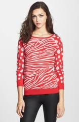 MARC BY MARC JACOBS Shebra Intarsia Sweater at Nordstrom