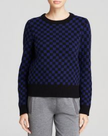 MARC BY MARC JACOBS Sweater - Checkerboard Wool at Bloomingdales