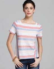 MARC BY MARC JACOBS Top - Stretch Stripe Jersey at Bloomingdales