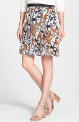 MARC BY MARC JACOBS and39Nightingaleand39 Print Silk Skirt at Nordstrom