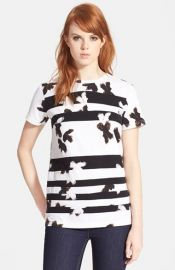 MARC BY MARC JACOBS and39Painted Flowerand39 Patchwork Tee at Nordstrom