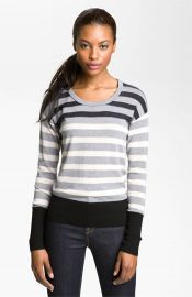 MARC BY MARC JACOBS and39Yasminand39 Stripe Sweater at Nordstrom