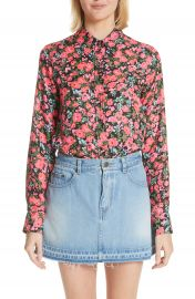 MARC JACOBS Floral Print Shirt at Nordstrom