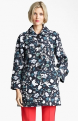 MARC JACOBS Flower andamp Butterfly Print Coat at Nordstrom