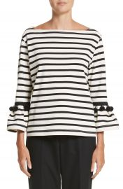 MARC JACOBS Pompom Stripe Tee at Nordstrom