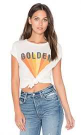 MATE the Label Golden Beau Tee in White Vintage from Revolve com at Revolve