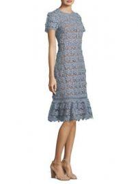MICHAEL Michael Kors - Floral Lace A-Line Dress at Saks Fifth Avenue