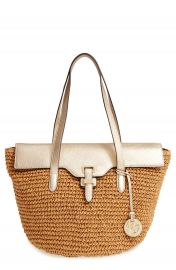 MICHAEL Michael Kors  Large Naomi  Straw Tote at Nordstrom