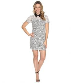 MICHAEL Michael Kors Collar Lace T-Shirt Dress at 6pm