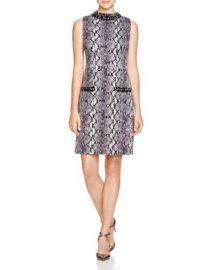 MICHAEL Michael Kors Embellished Snake Print Dress at Bloomingdales