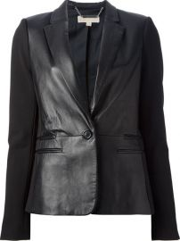 MICHAEL Michael Kors Leather blazer at Farfetch