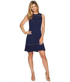 MICHAEL Michael Kors Ruffle Flounce Dress at Zappos