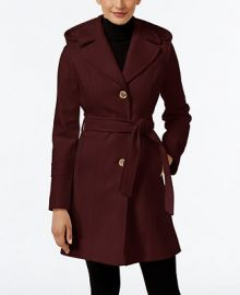 MICHAEL Michael Kors Wool-Blend Hooded Coat  Only at Macy s at Macys