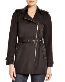 MICHAEL Michael Kors Zip Trench Coat at Bloomingdales