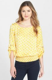 MICHAEL Michael Kors and39Musenyiand39 D-Ring Kimono Sleeve Top at Nordstrom