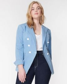 MILLER DICKEY DOUBLE-BREASTED JACKET at Veronica Beard