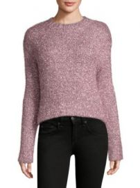 MILLY - Italian Metallic Fringe Sweater at Saks Fifth Avenue
