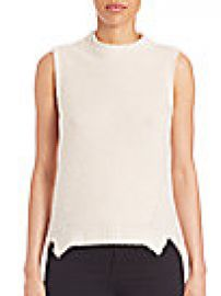 MILLY - Sleeveless Cashmere-Blend Sweater at Saks Fifth Avenue