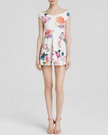 MINKPINK Dress - Off The Shoulder Floral at Bloomingdales