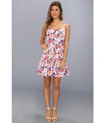 MINKPINK Floral Frenzy Box Pleat Dress Multi at 6pm