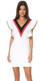MSGM Ruffle V Neck Dress at Shopbop