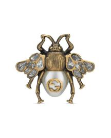MULTI-FINGER RING WITH BEe at Gucci