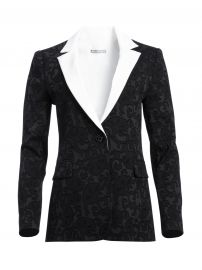 Macey Fitted Blazer by Alice + Olivia at Alice and Olivia
