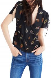 Madewell Belle Silk Top at Nordstrom