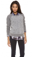 Madewell Boucle Panel Sweater at Shopbop