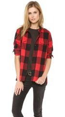 Madewell Buffalo Check Ex BF Shirt at Shopbop