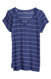 Madewell Choral Split Neck Tee at Nordstrom