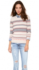 Madewell Cora Fair Isle Wool Sweater at Shopbop