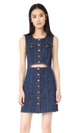 Madewell Denim Button Front Cutout Dress at Shopbop