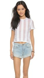 Madewell Lace Crop Top at Shopbop