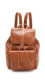 Madewell Leather Rucksack at Shopbop