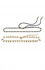 Madewell Set of 2 Choker Necklaces at Nordstrom
