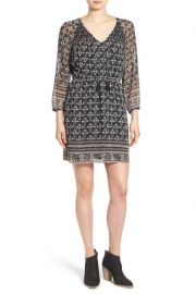 Madewell print boho dress at Nordstrom Rack