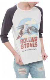 Madeworn Raglan Rolling Stones Tee at Diani Boutique