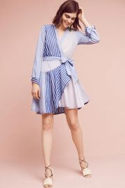 Maeve Newport Striped Shirtdress at Anthropologie