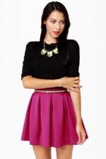 Magenta skirt like Charlottes at Lulus