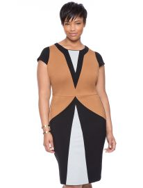 Maggie Colorblock Dress at Eloquii