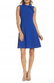 Maggy London Bow Fit   Flare Dress at Nordstrom
