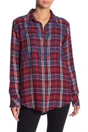 Magical Plaid Embroidered Shirt at Nordstrom Rack