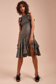 Magnetise Short Sleeve Dress by C/Meo Collective at Fashion Bunker