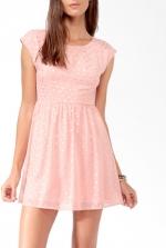 Magnolias pink polka dot dress at Forever 21