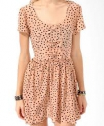 Magnolia's polka dot dress at Forever 21